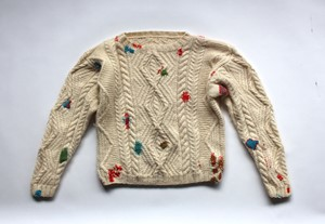 A Jumper to Lend, A Jumper to Mend, by Bridget Harvey