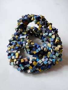 Blue Necklace, by Bridget Harvey