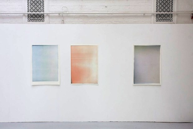 Untitled Triptych (colours) 2012