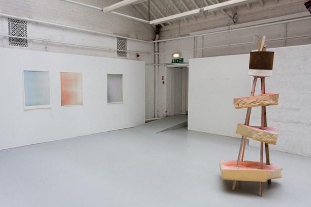 Untitled Triptych (colours) 2012 - Credit: richard alderson