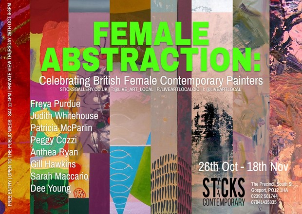 Female Abstraction: A Celebration of British Female Contemporary Painters