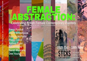 Female Abstraction: A Celebration of British Female Contemporary Painters, by Beth Davis-Hofbauer