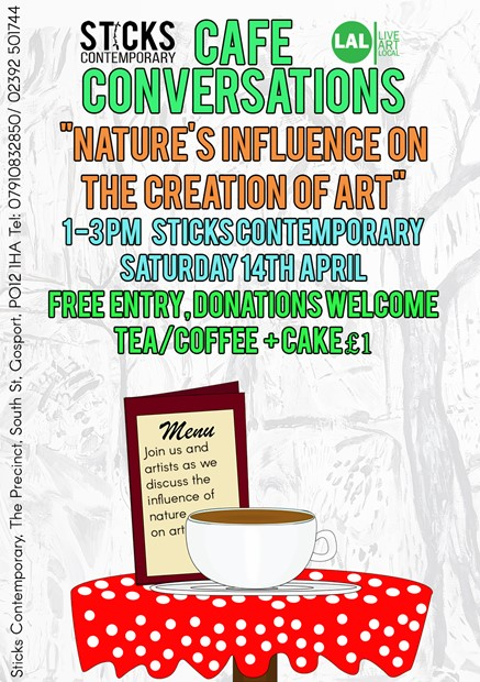 Cafe Conversations: Nature's Influence on Art and its Positive Affect on Mental Health