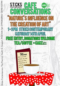 Cafe Conversations: Nature's Influence on Art and its Positive Affect on Mental Health, by Beth Davis-Hofbauer