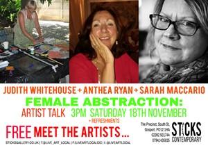 Female Abstraction: Artist Talk, by Beth Davis-Hofbauer