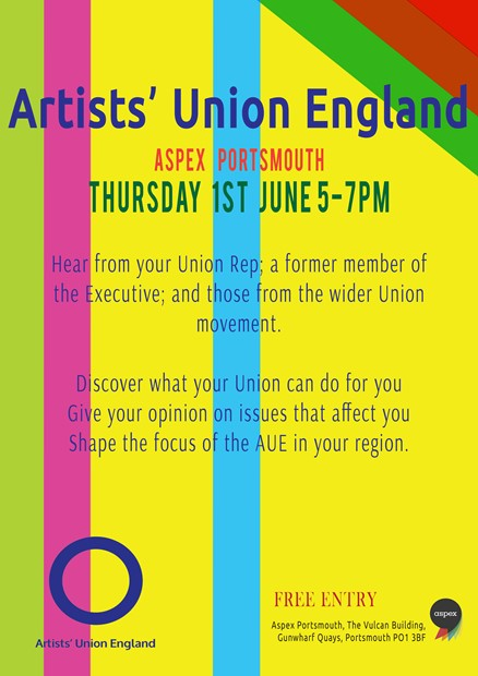 Artists' Union England at Aspex Portsmouth, by Beth Davis-Hofbauer