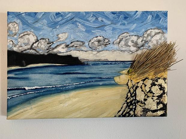 'Hayle estuary, marram'