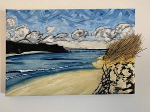 'Hayle estuary, marram', by James Eddy