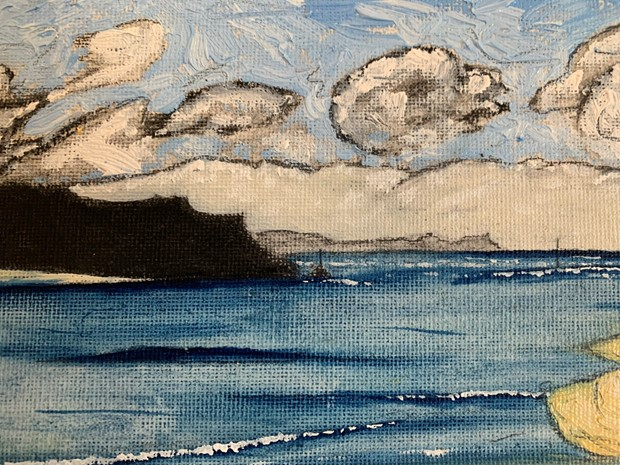 'Hayle estuary, marram' - Credit: James Eddy