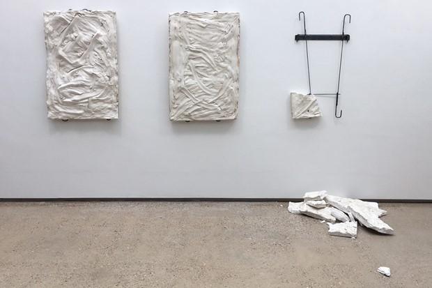 Plaster Triptych