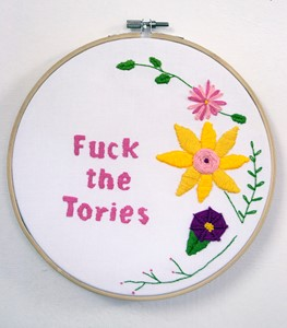 F*ck the Tories, by nikkita morgan