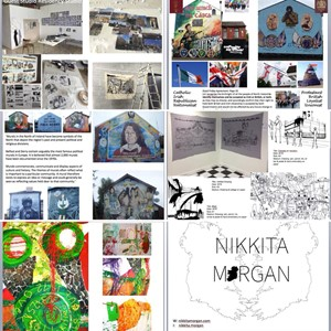 Guest Artist Lecture school & college tour:, by nikkita morgan