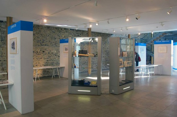 Drawn to Architecture exhibition