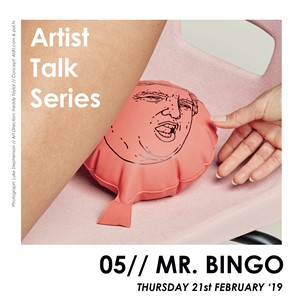 The Verse - Mr.Bingo at Artist Talks 2019, by Jake Francis