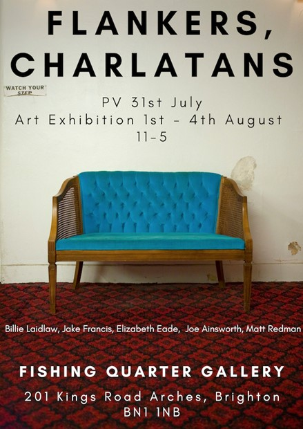 Flankers present: Charlatans, by Jake Francis