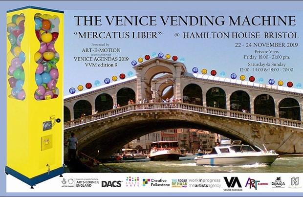 VVM9 : The Venice Vending Machine, by Jake Francis