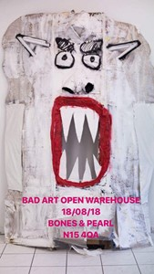 BAD ART - OPEN WAREHOUSE, by Jake Francis
