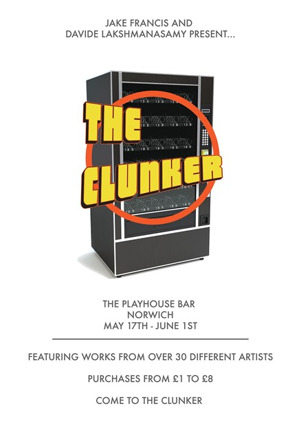 THE CLUNKER at Norfolk & Norwich Festival, by Jake Francis