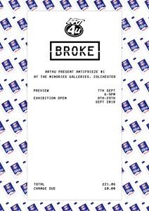 Art4U: Broke, by Jake Francis