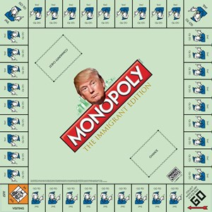 Monopoly: The Immigrant Edition, by Jake  Francis