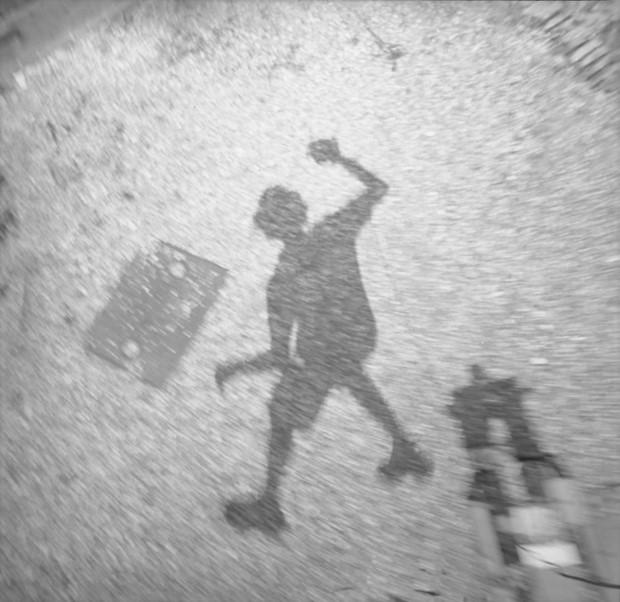 Shadow jumping with Aldobranti Fosco Fornio, by Catherine Wynne-Paton