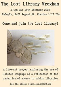The Lost Library Wrexham, by Catherine Wynne-Paton