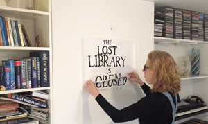 The Lost Library: How challenging i.e. uncomfortable, can art be in this current context?, by Catherine Wynne-Paton