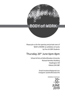 Body of Work, by Katie Taylor