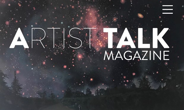 Claire Cansick in Artist Talk Magazine, by Claire Cansick