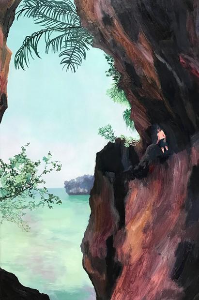 Boy on a Rock