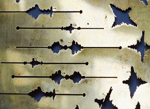 Call and Response, study in brass, by Caro Williams