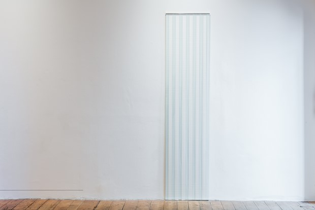 Seeing Straight - Credit: Glass, paper and aluminium in the Nunnery Gallery, London