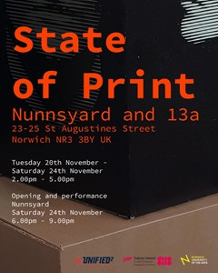 State of Print: Artist led nation, by Aaron Griffin
