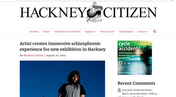 Hackney Citizen, London, Newspaper.