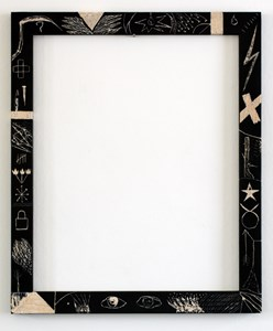 Frame with symbols 4