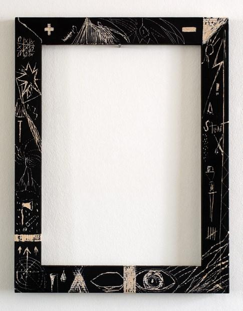 Frame with symbols 3