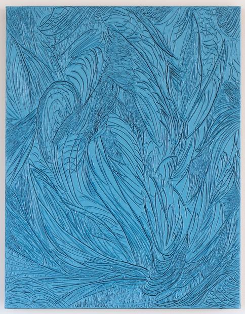 Leafy Blue's Etch