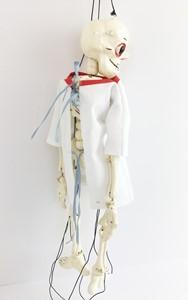 Do my bones look big in this?, by Caren Garfen