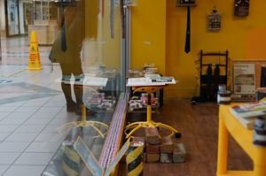 Invigilating @ The Needs Gone Gift Shop, by Martin Hamblen