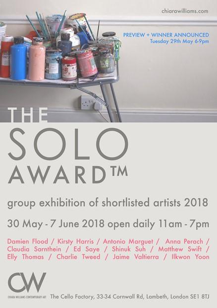 The SOLO Award 2018