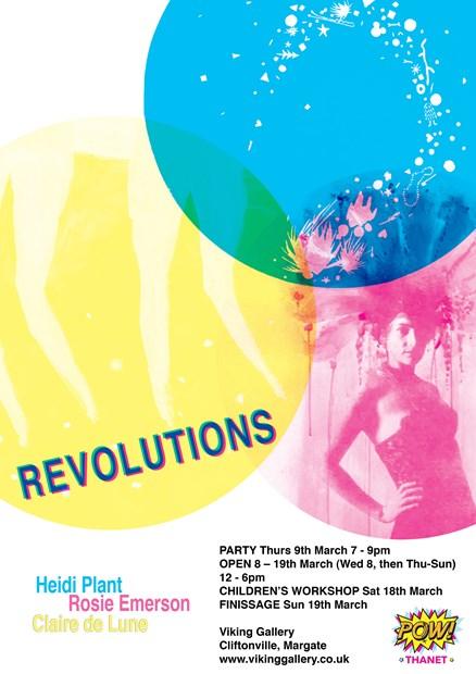 8 - 19 March / Claire de Lune / Revolutions
