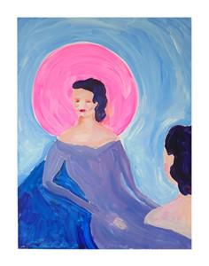 the mirror, by Claire de Lune
