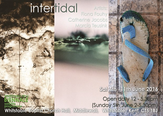 INTERTIDAL: Fiona Fouhy, Catherine Jacobs and Marcia Teusink, by Marcia Teusink