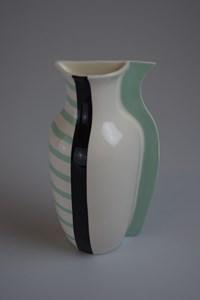 Aqua // Stripes, by Charlotte Burke