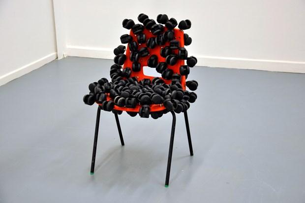 'Untitled (Castors & Chair)'