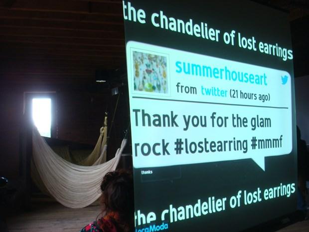 Making The Chandelier of Lost Earrings     Sharon Campbell and Lauren Sagar - Credit: Lauren Sagar