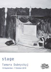 stage, by Tamara Dubnyckyj
