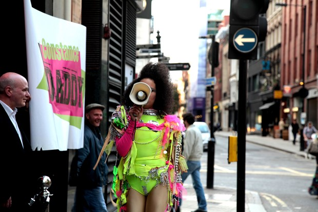 Quilla Constance 'Punk Protest Performance'