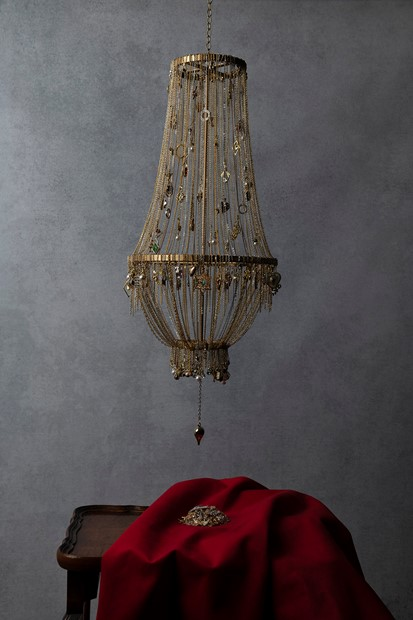 Chandelier of False Promises (2019, from the series Possession)