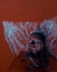 Head of a Man, Sleeping II, by Lee Hardman